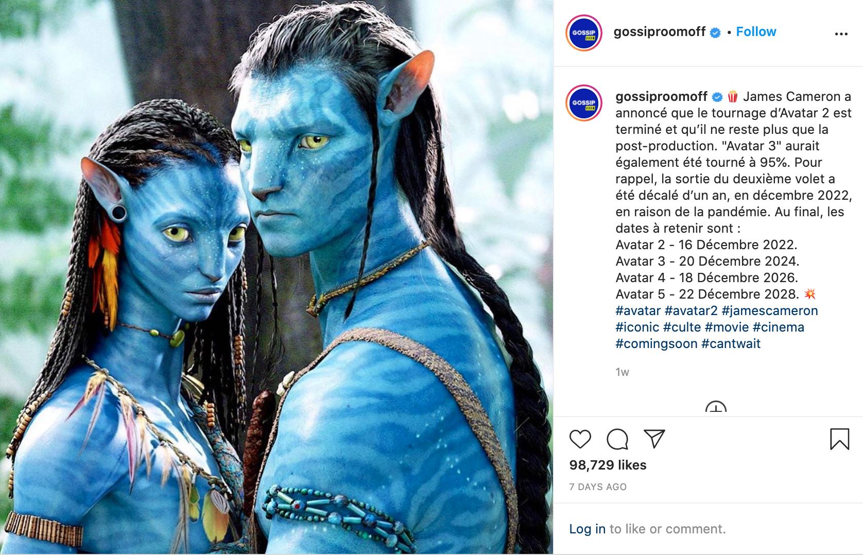 Avatar Insta Post 3