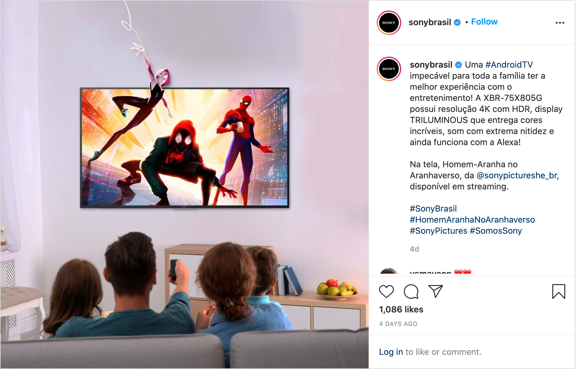 Sony Pictures Insta Post 3