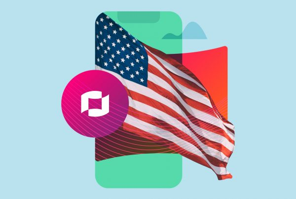 American flag mobile device contract