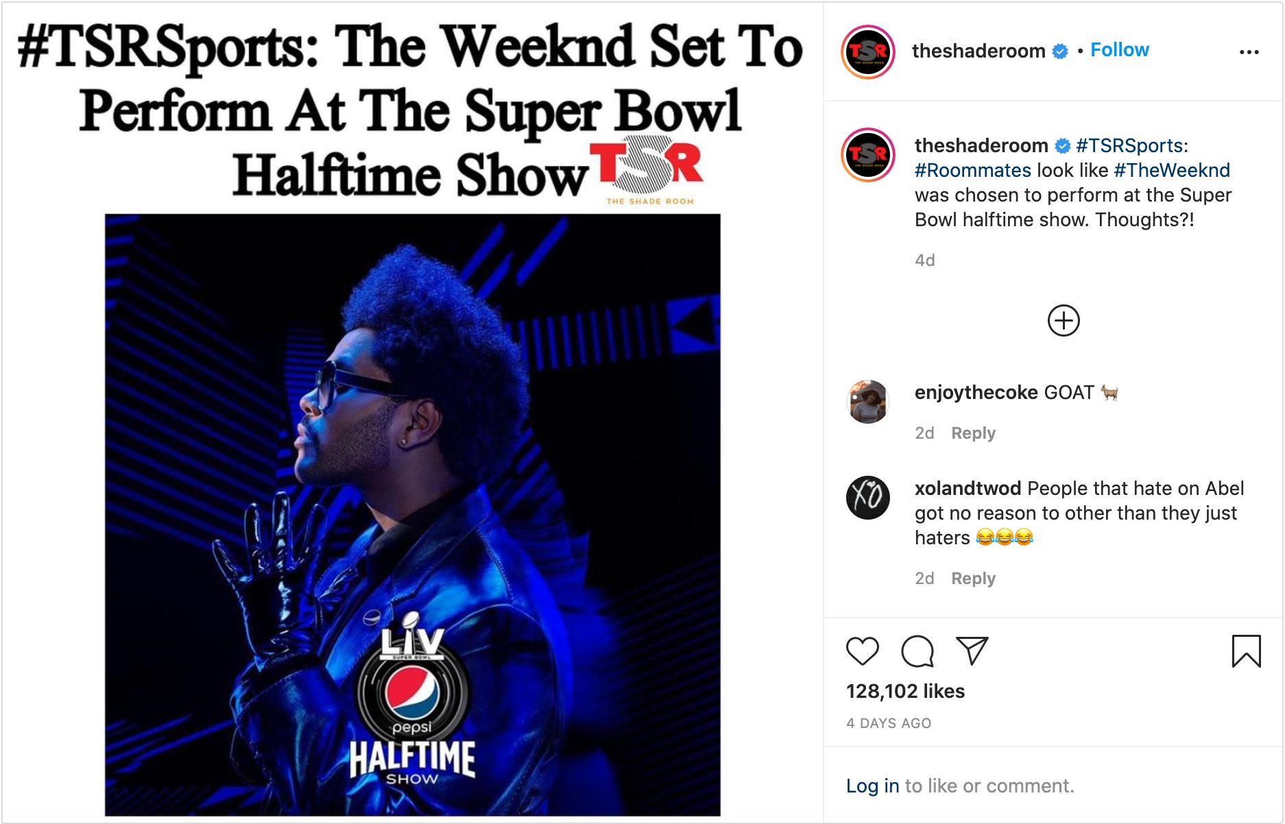 Super Bowl Insta Post 1