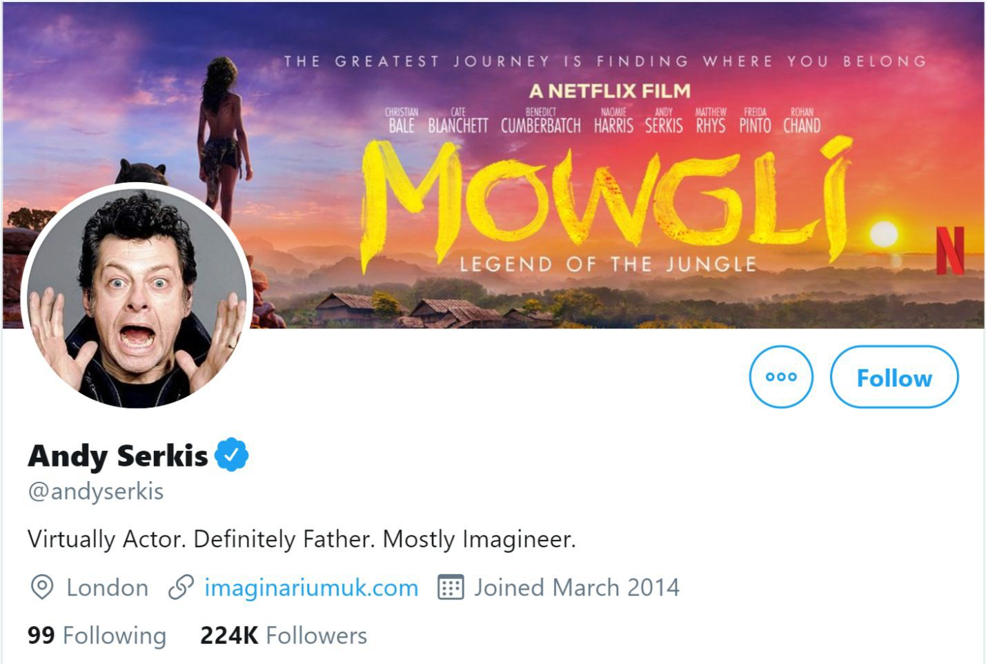 andy serkis twitter profile