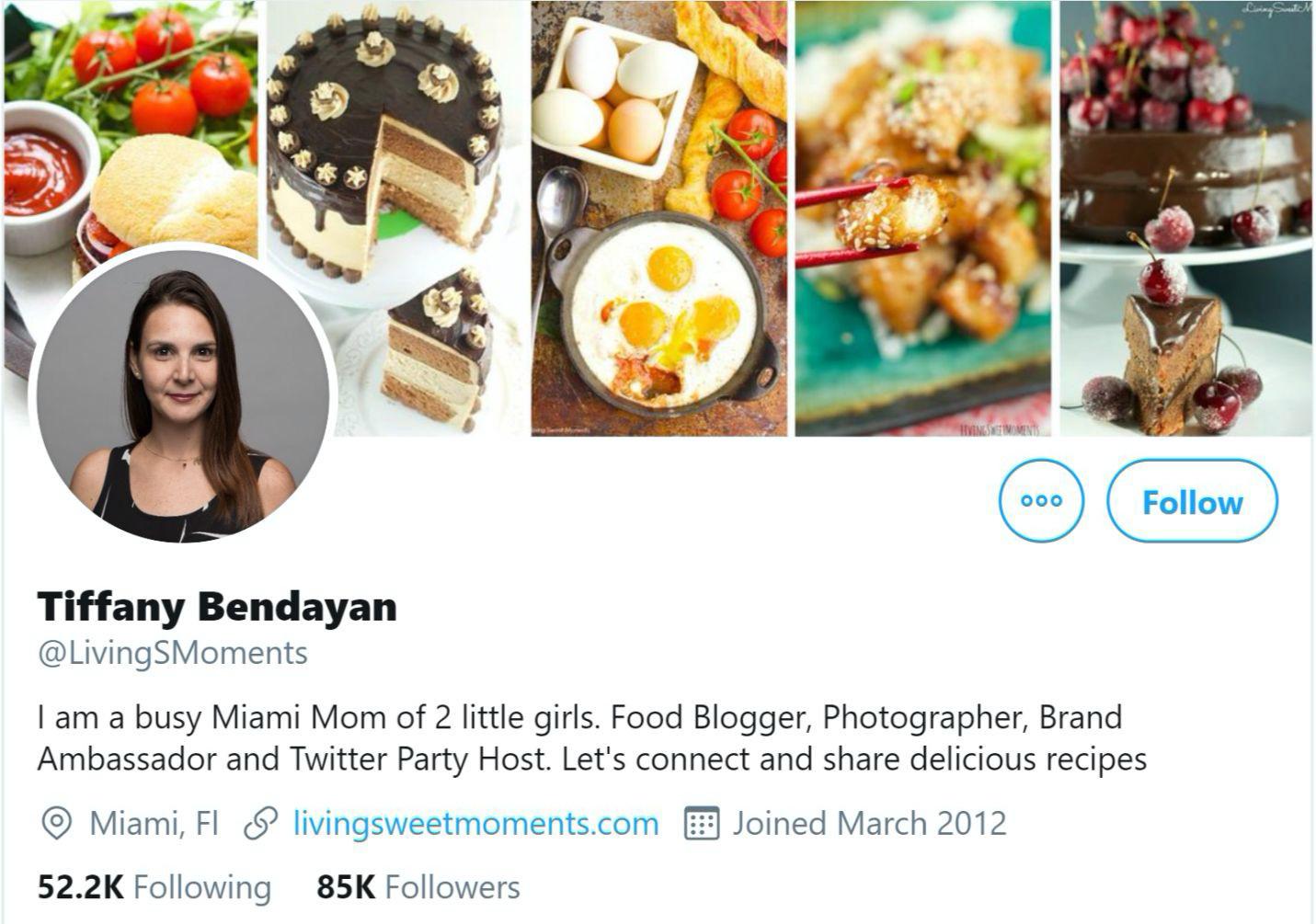 tiffany bendayan twitter influencer