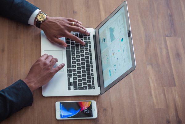 tiktok analytics laptop iphone