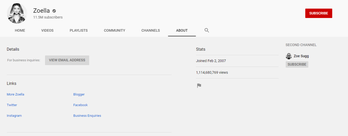 zoella zoe sugg youtube