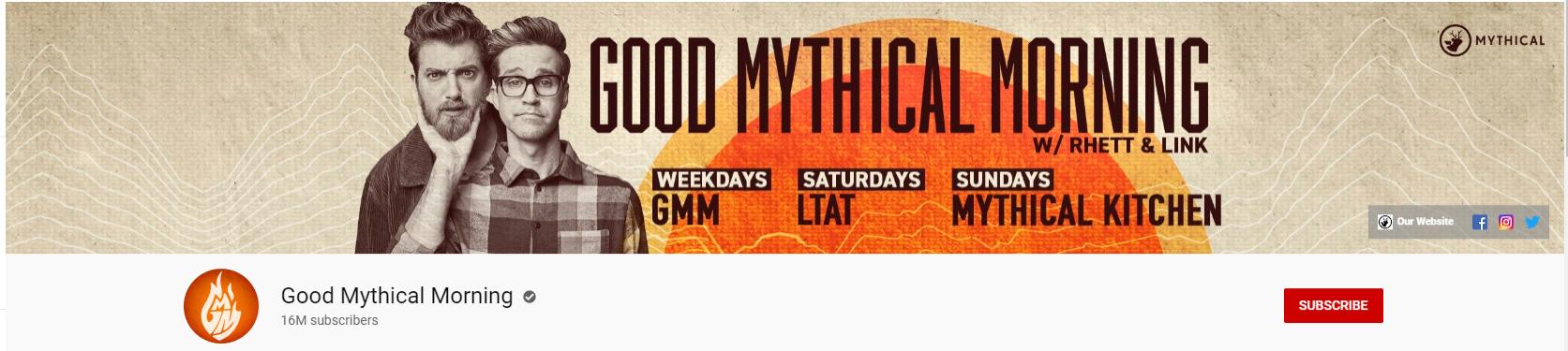 good mythical morning youtube