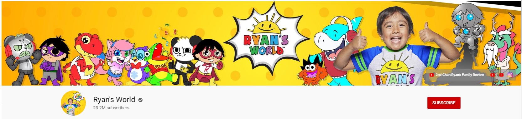 ryans world youtube
