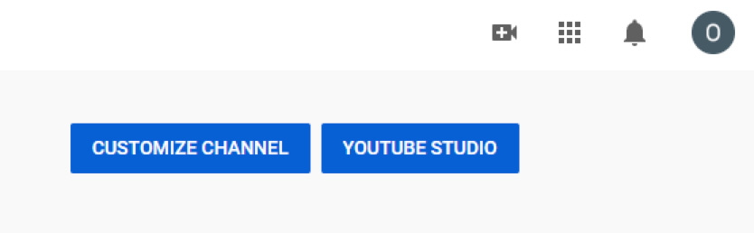 customize channel youtube