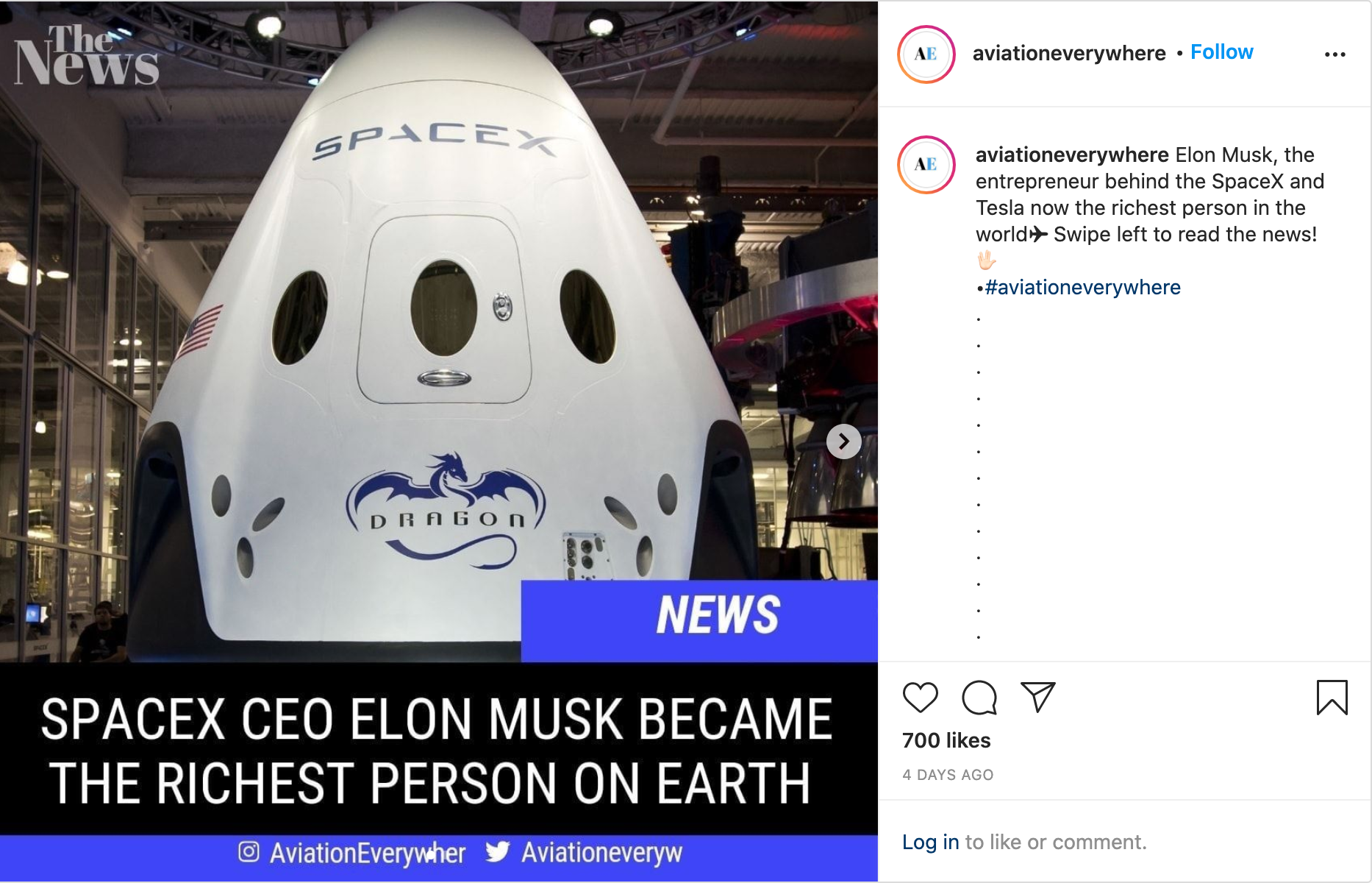 SpaceX Insta Post 3