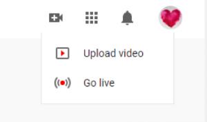 youtube upload video