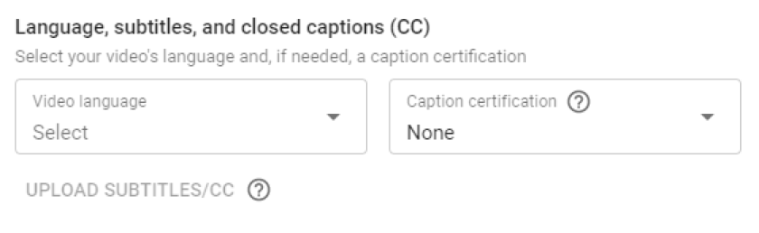 subtitles closed caption youtube