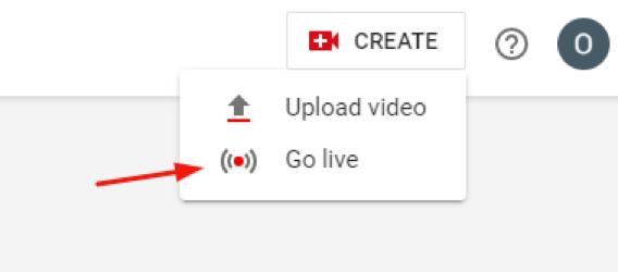 go live youtube