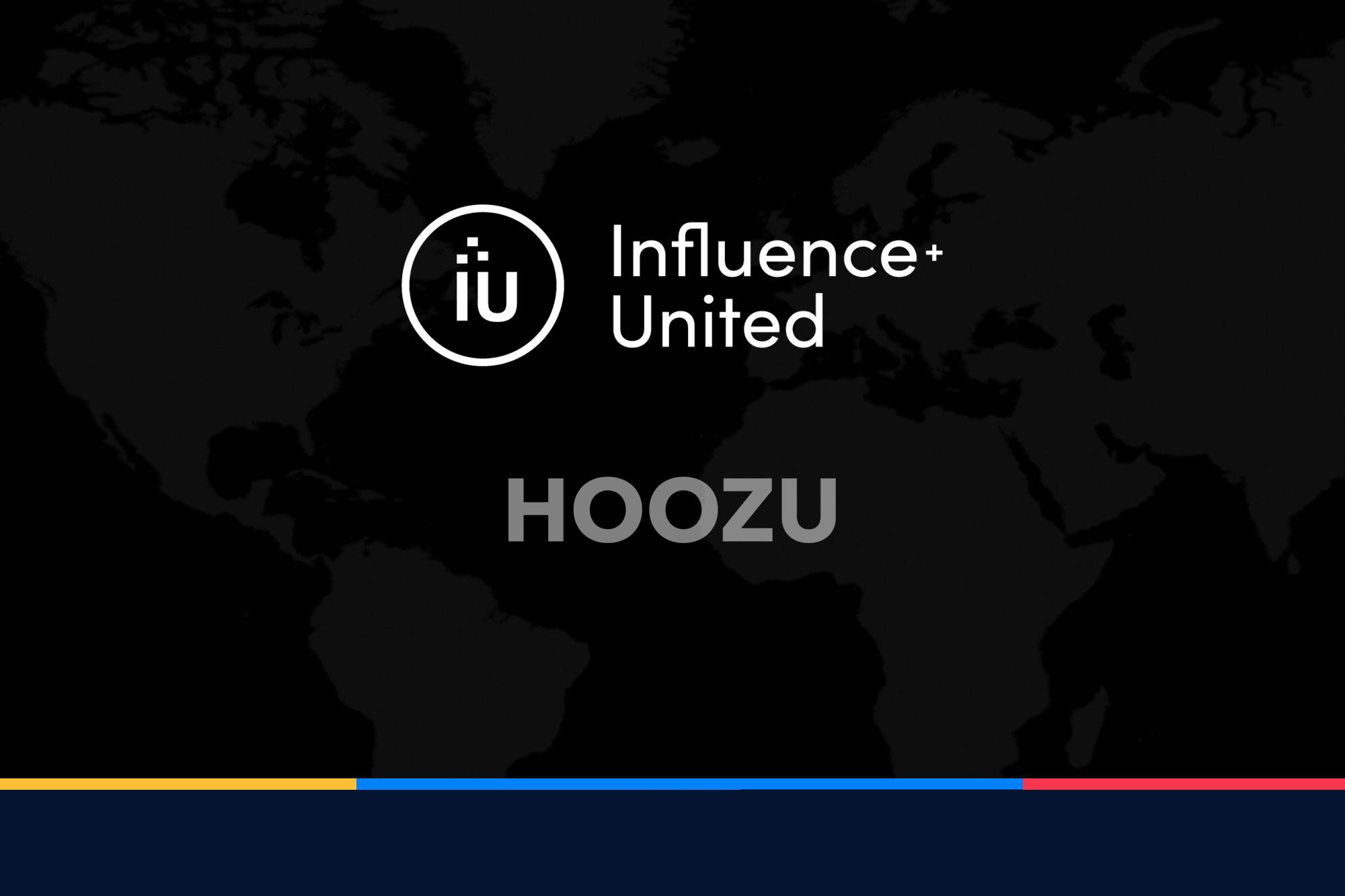 Influence+United welcomes Hoozu