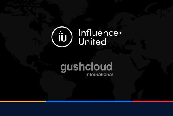gushcloud influencer+united partner