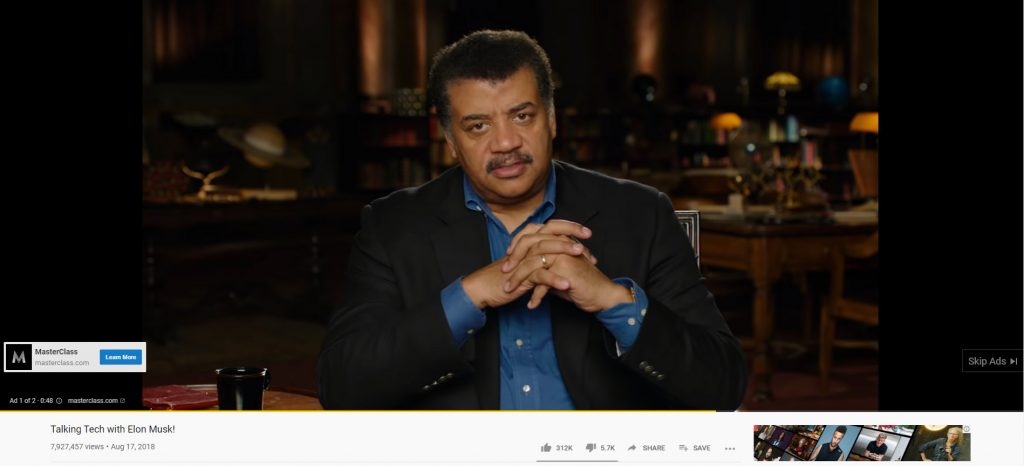 preroll ads youtube