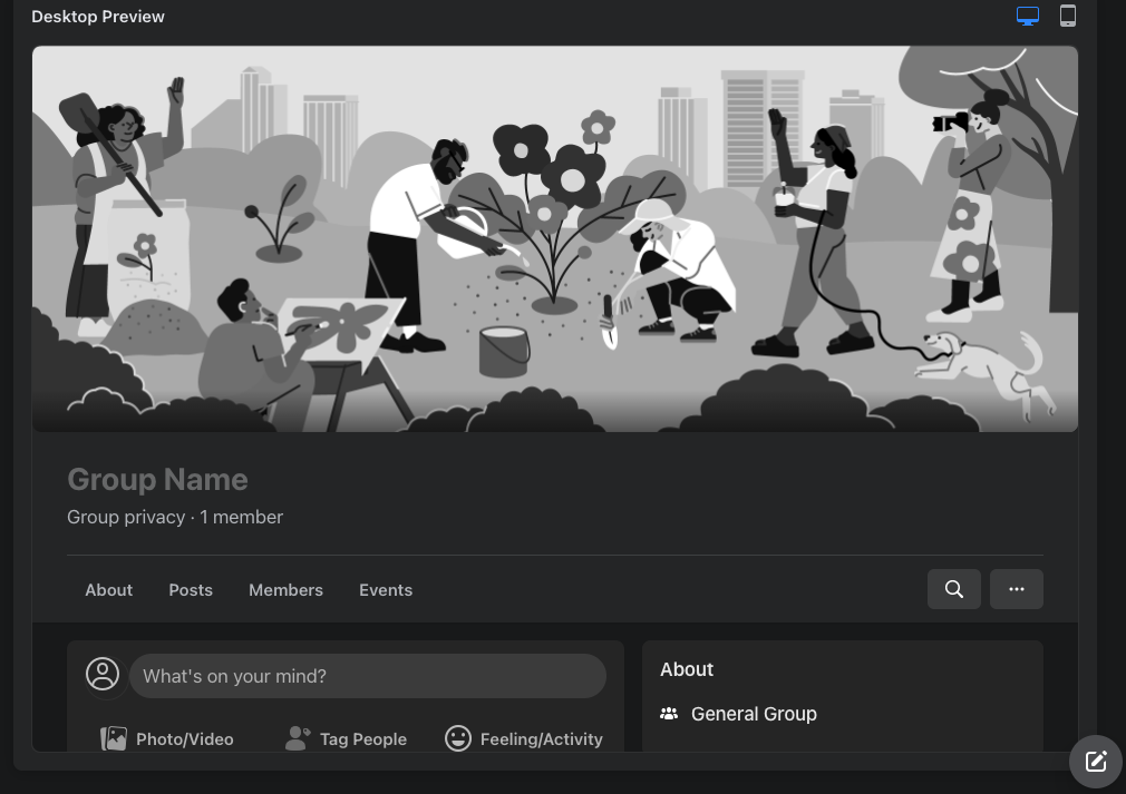 Creating New Facebook Groups