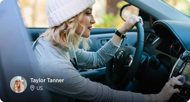 Taylor Tanner Shake Profile
