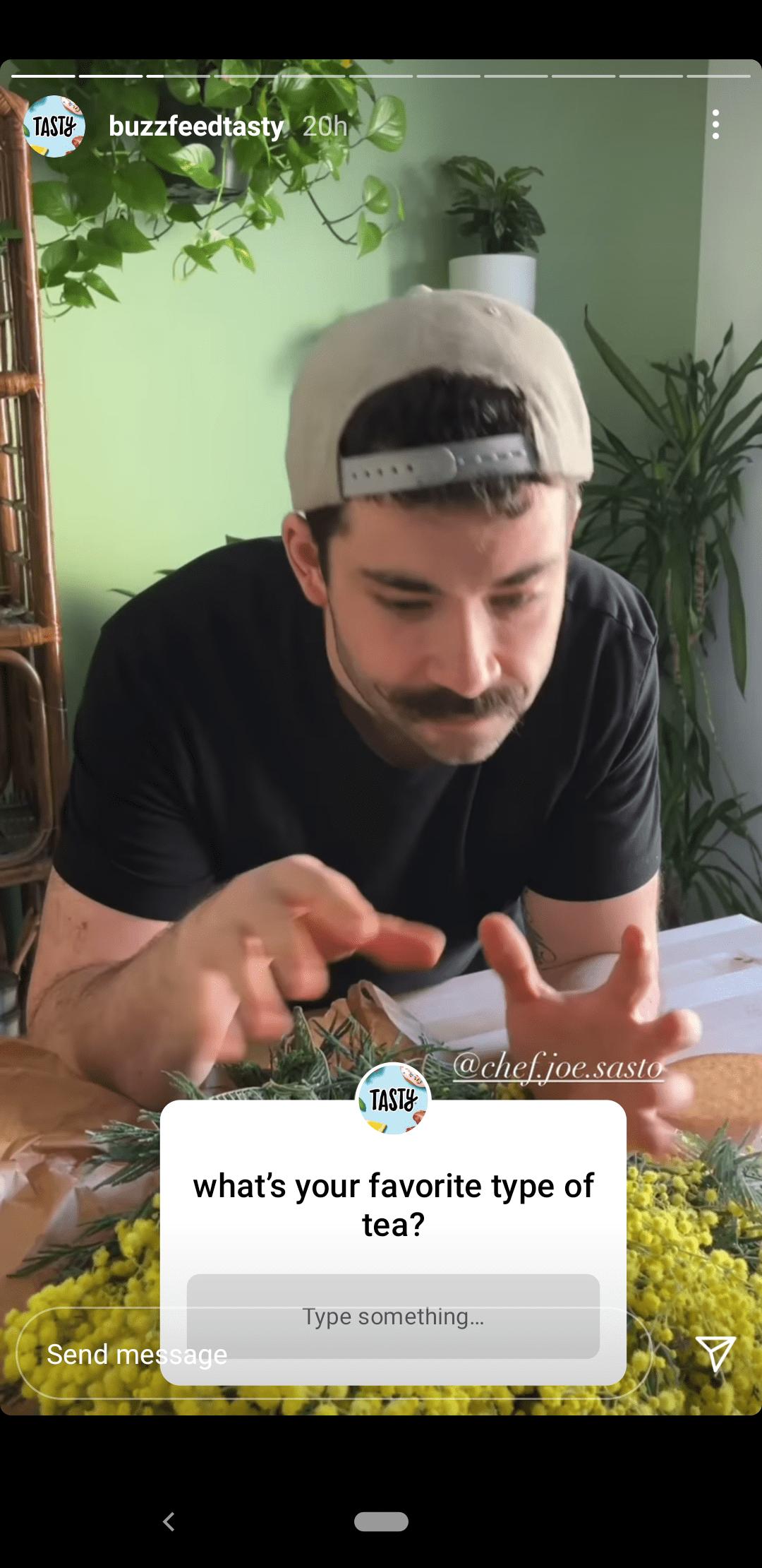 Instagram Stories Question Sticker