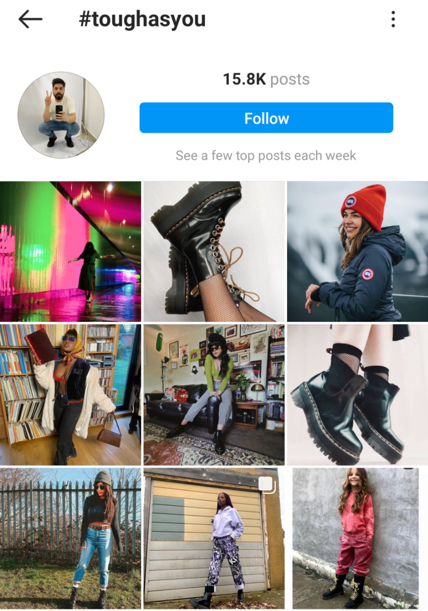 Using mentions for the Instagram Algorithm