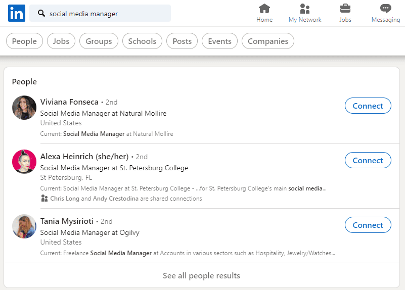 Finding Jobs on LinkedIn
