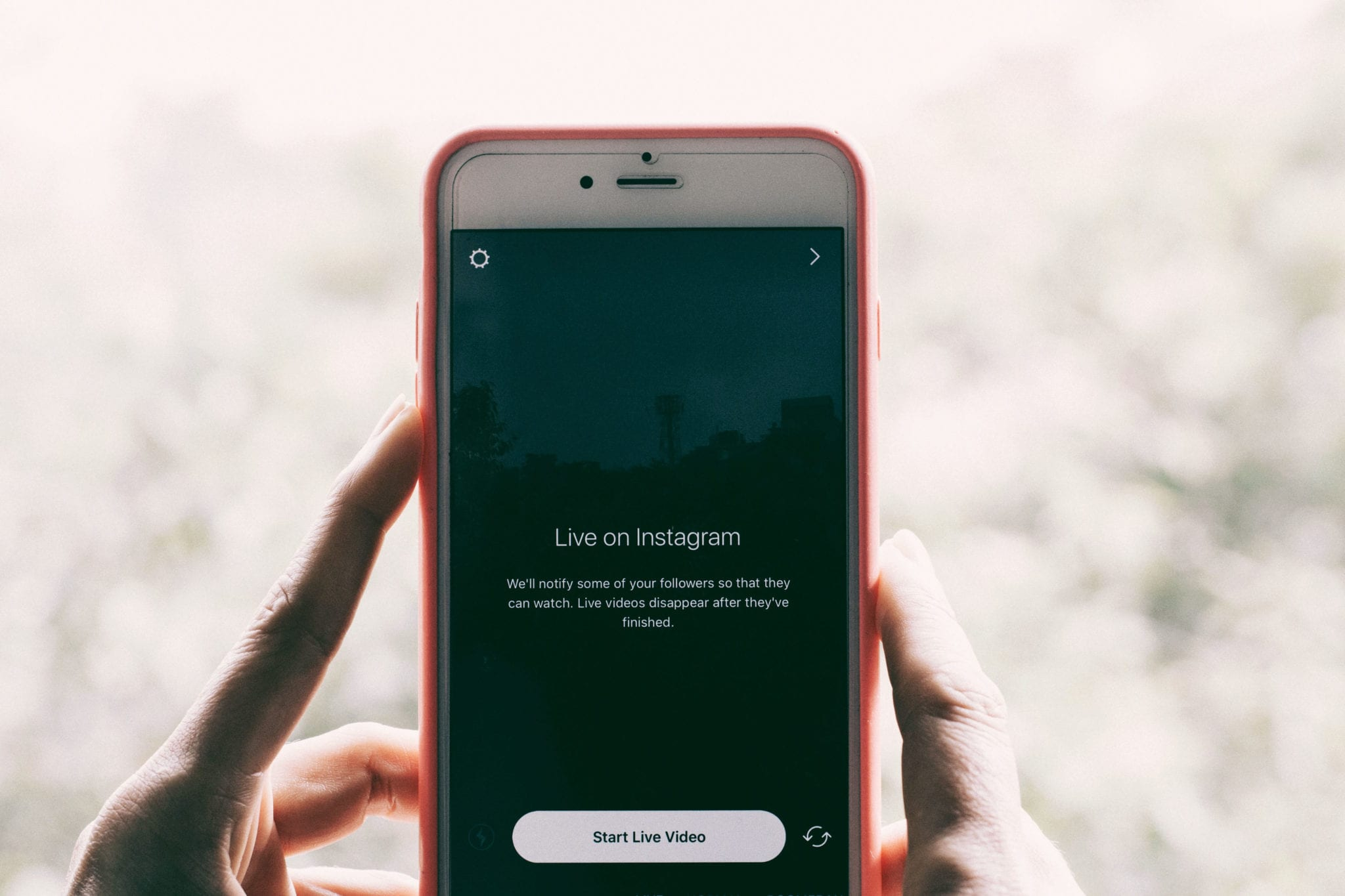 Live Content: Going Live on Instagram