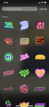stickers for twitter fleets