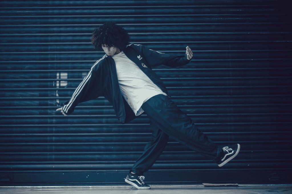 man dancing outside tiktok trends