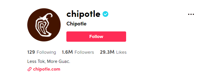 tiktok trends chipotle branded hashtag