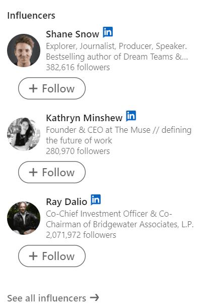 b2b influencers