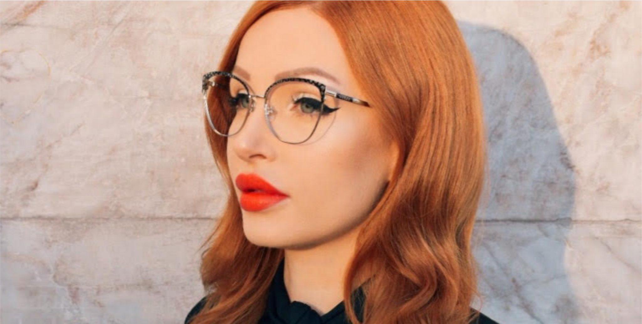 sara influencer glasses guess
