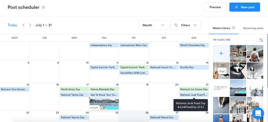 Social Post Scheduler
