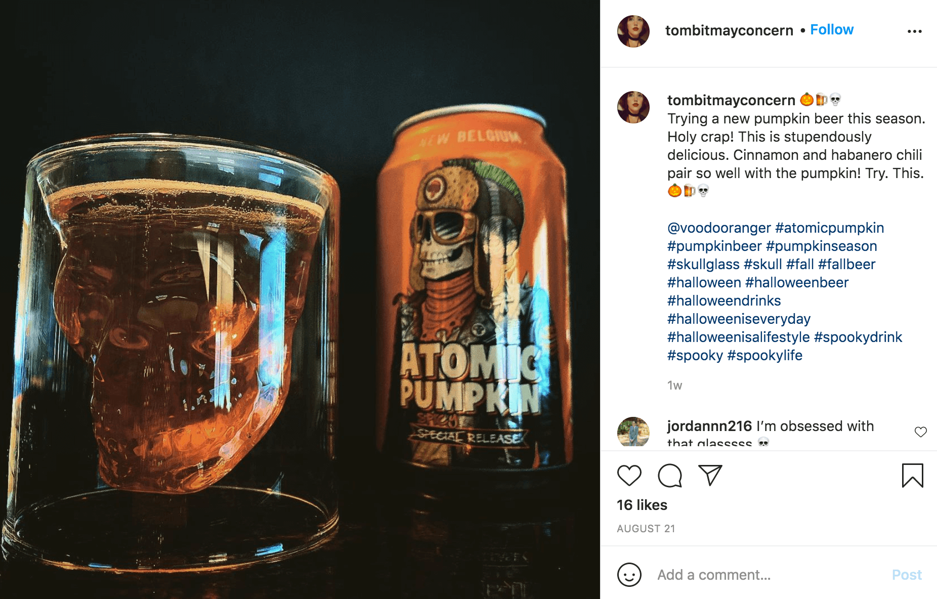 Halloween Influencer Instagram Post Containers