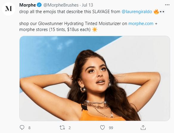 Sample Morphe post