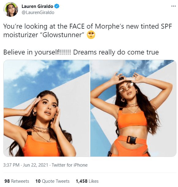 Sample Influencer Post