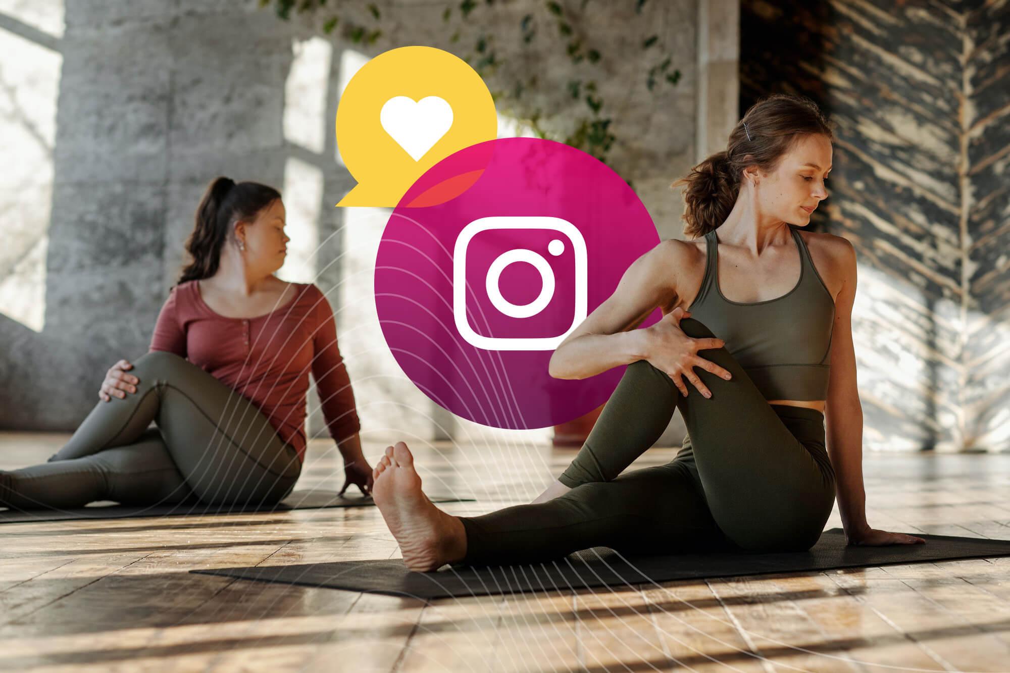 Wellness Influencers on Instagram Doing Yoga