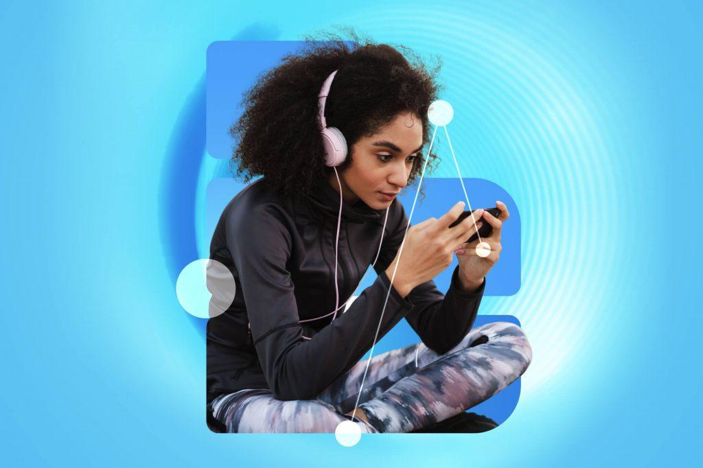 Social Audio Clubhouse BrandGraph