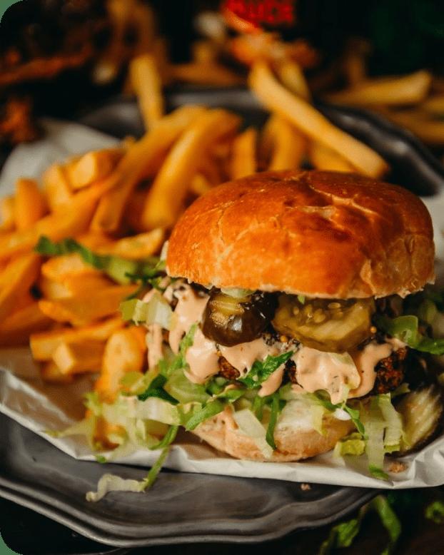 recipe highlight hidden valley burger