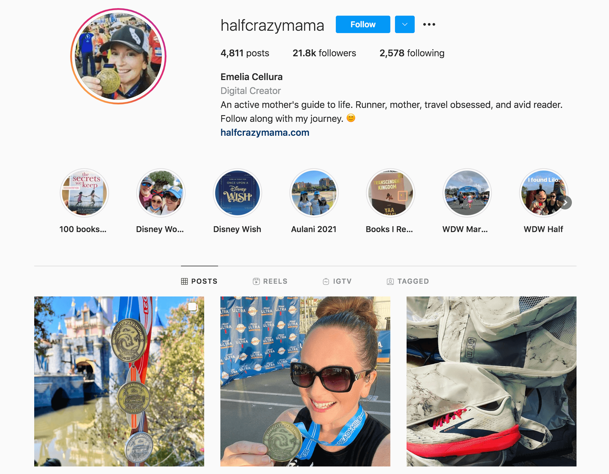 Emelia Cellura Instagram Profile