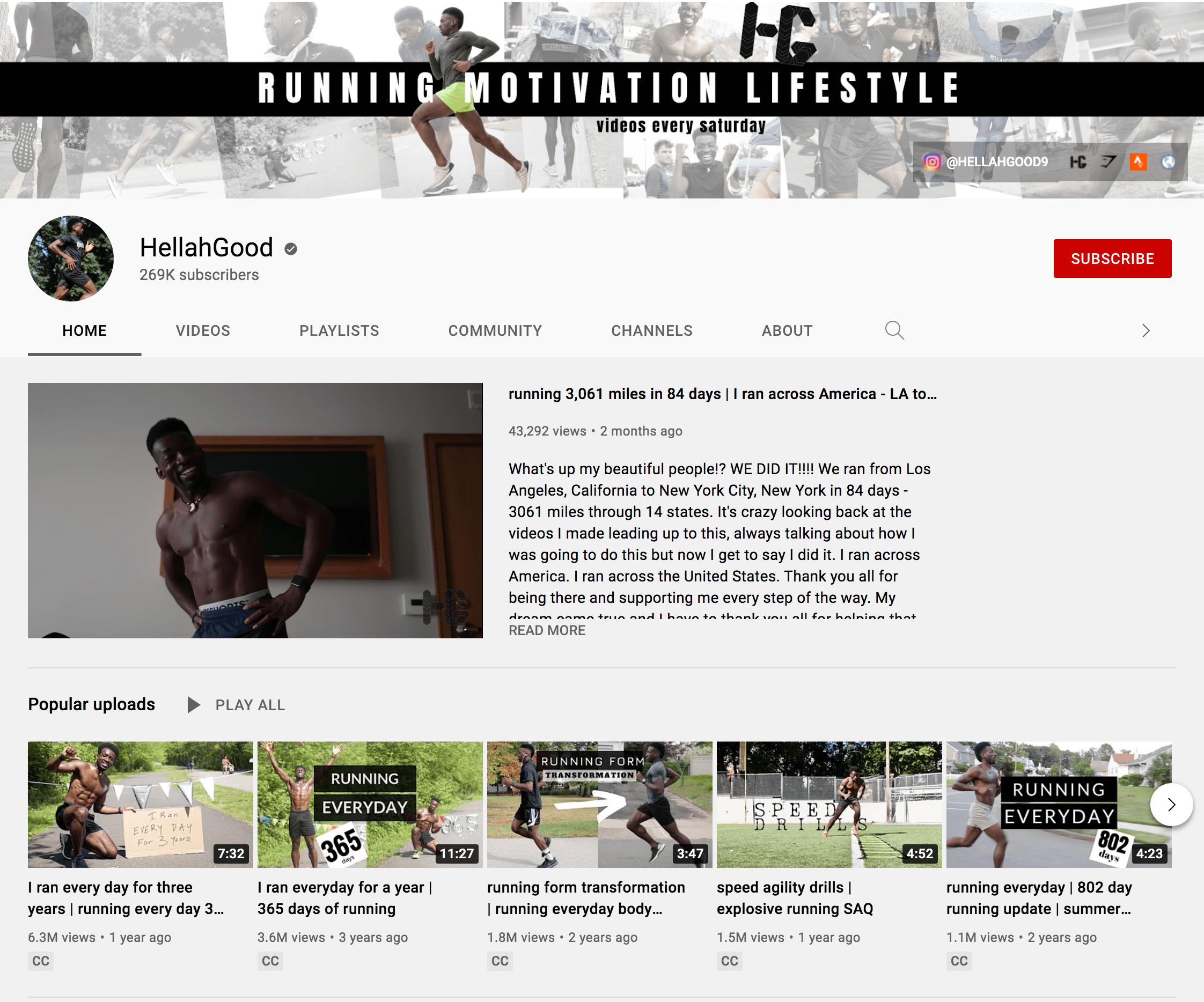 Hella Good YouTube Channel Bio