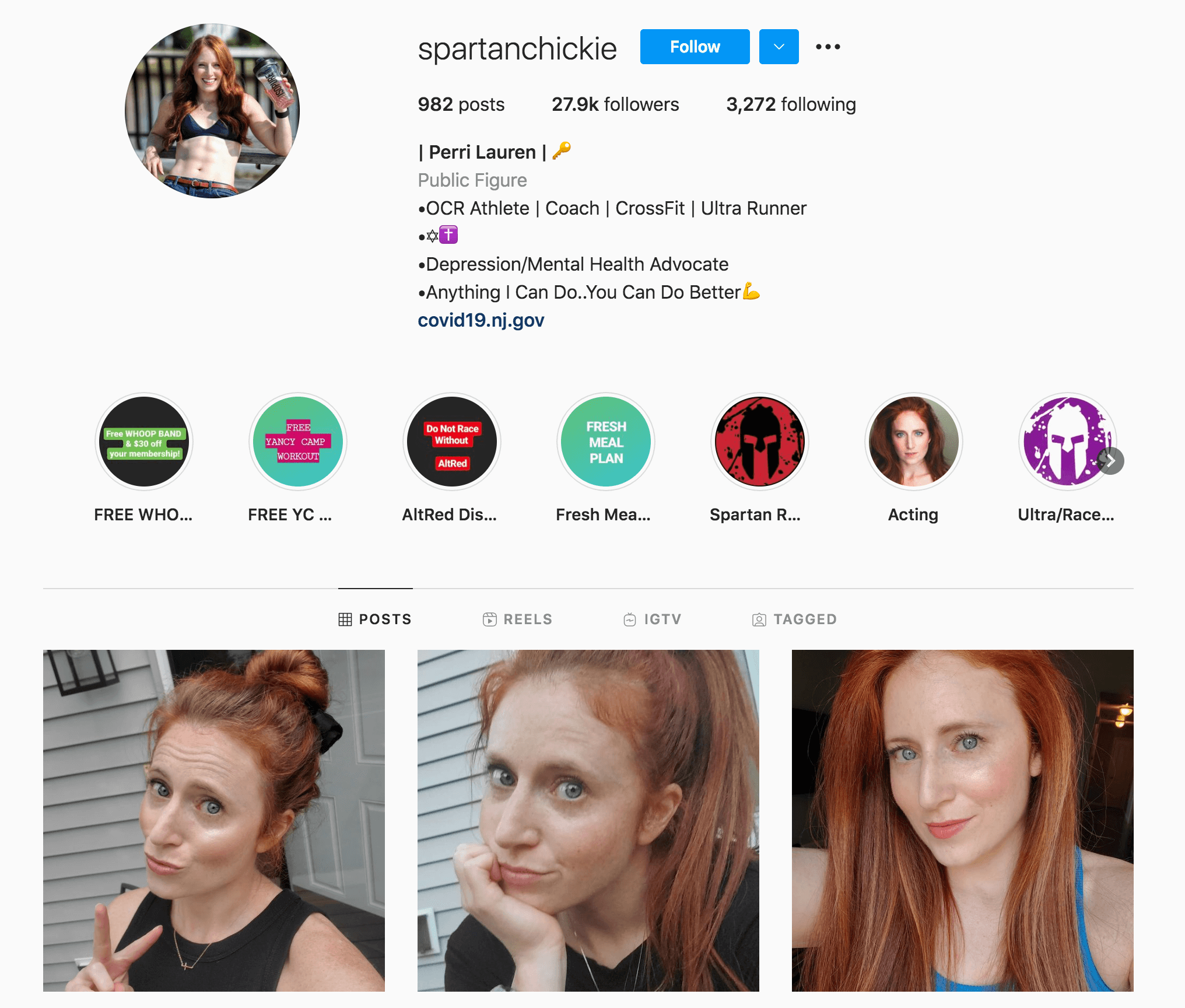 Perri Lauren Instagram Profile