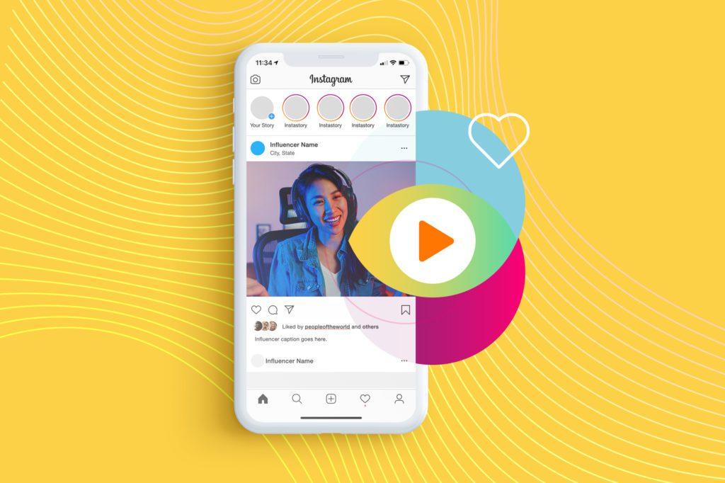 Instagram Influencer Screenshot on a Phone