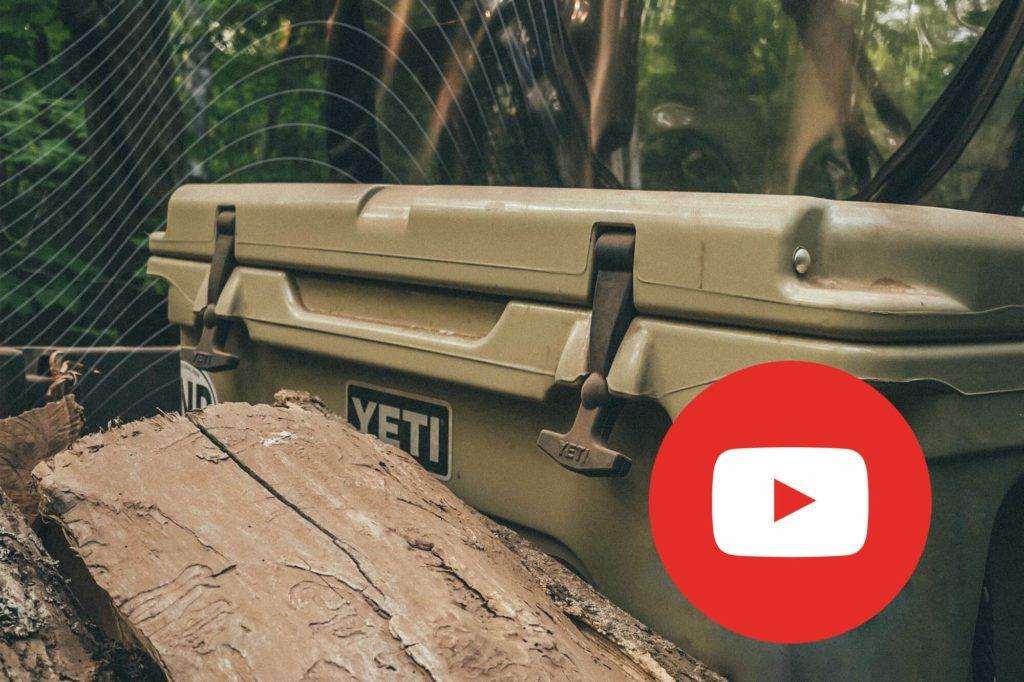 Yeit case with YouTube logo